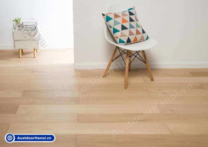 sàn gỗ sồi mỹ nga trắng đỏ giá tiền bao nhiêu m2